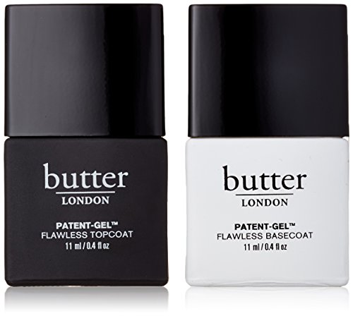 butter LONDON Patent-Gel Top & Tails, Unter- und Überlack, 2 x 11 ml