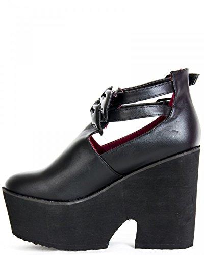 Iron Fist Too Fly Super Boot, Bottes Classiques femme Noir - Noir