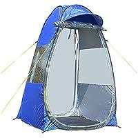 QYXANG Tienda de retrete Pop up Pesca al Aire Libre Instantánea Que acampa refugios solares Portátiles para Jardín al Aire Libre Que acampa Pesca Azul