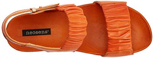 Neosens Damen S955 Restored Skin Carrot/Lairen Peeptoe Sandalen Orange (Carrot)