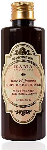 Kama Ayurveda Rose and Jasmine Body Moisturiser, 200ml