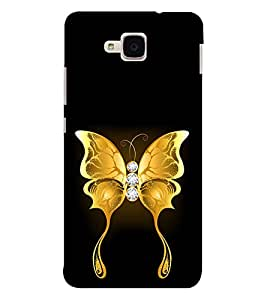 EPICCASE dwelling butterfly Mobile Back Case Cover For Huawei Honor 5c (Designer Case)
