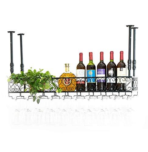 lquide Metall Eisen Weinregale Lagerung Regal Wein Champagner Glas Becher Stemware Rack Weinflaschenhalter für Familie und Bar (größe : 30×30cm) - Lagerung Champagner-gläser