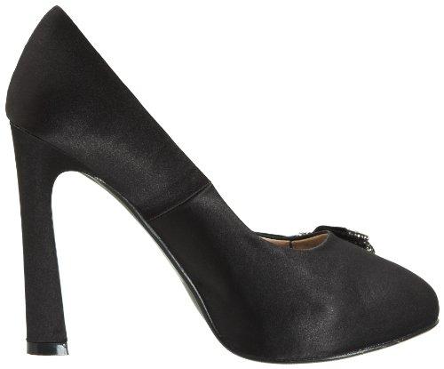 Victoria Delef Dressy Shoe, Escarpins Bout ouvert femme Noir - Schwarz (NEGRO)