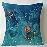 Die besten Pillowcase Home Fashion Kissen - NFHRRe Kieffer Shop Dr Who The Girl Who Bewertungen