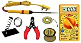 7 In 1 Electric Soldering Iron Stand Tool Wire Stripper Kit