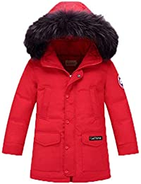 08341007fcd9 Unisex Jungen Männer Jacket Winter Dchen Down Verdickte Winterjacke Jungen  Mantel Mode Marken Verdickte Trenchcoat Jungen