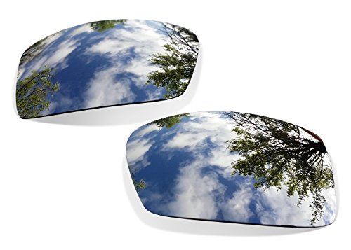 sunglasses restorer Kompatibel Ersatzgläser Für Oakley Gascan (Polarisierte Titanium Gläser)