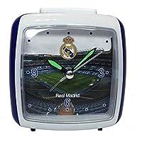 Seva Import Real Madrid Despertador, Negro, Talla Única
