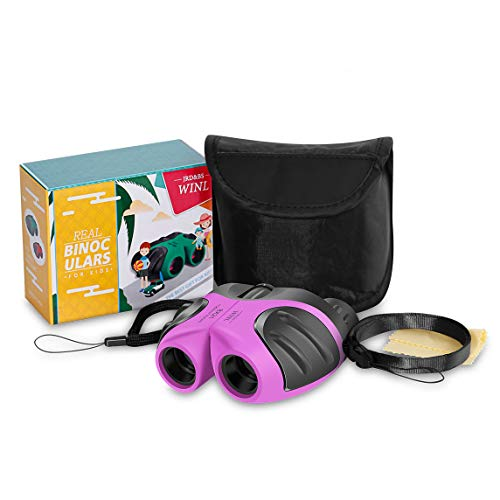 pielzeug-Fernglas,4-9 Jahre altes Mädchen Hinterhof Spielzeug Mini-Fernglas,5-12 Jahre altes Mädchen Jungen Theater oder Opernhaus (Rosa) ()