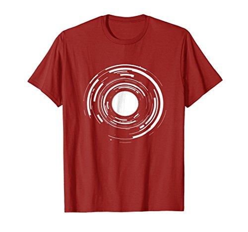 Cámara lente fotógrafo T Camisa regalo para hombres mujeres teetoop Cranberry Small
