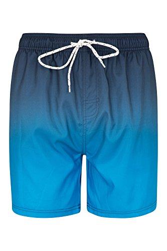 Mountain Warehouse Aruba Ombre Herren-Badeshorts Blau X-Small (Herren Kurze Aruba)