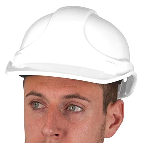 Kerbl 34502 Polyethylen Helm 6 Punkt Aufhängung, weiß