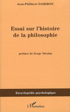 Essai sur l'histoire de la philosophie par Jean-Philibert Damiron