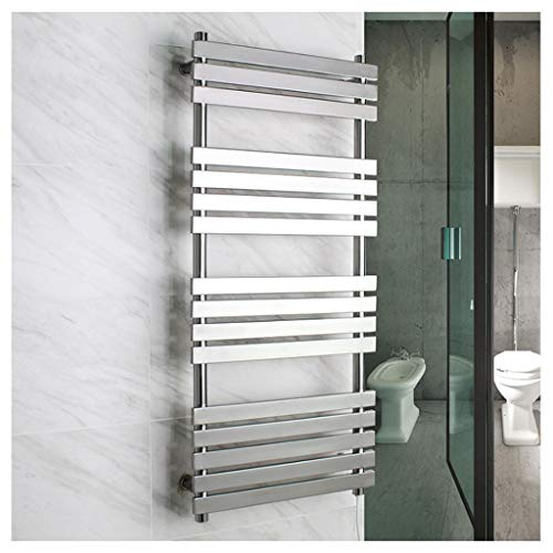 YHNUJMIK Flat Panel Handtuchwärmer, Intelligente Temperaturregelung Schnelle Erwärmung Verhinderung Von Wasserlecks Auslaufsicher Elektrisch Edelstahl 304 Badezimmer (88W) -