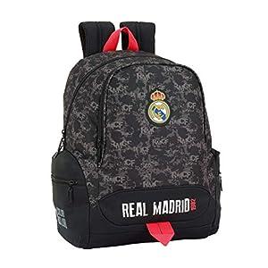 41dqwgh%2B%2B7L. SS300  - Safta Real Madrid Mochila Infantil, 43 cm, Negro