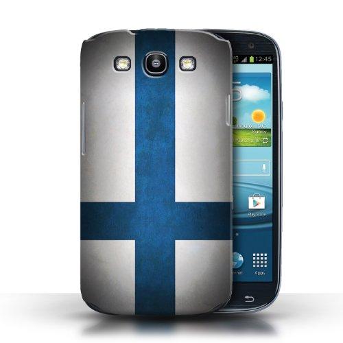 Coque en plastique pour Samsung Galaxy S3/SIII Collection Drapeau - Nigeria Finlande/finlandais