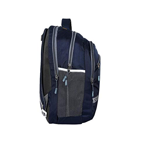 Drazo 35 Liters Navy Good Quality Backpack with Laptop Compartment. Image 4