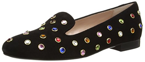 MOSCHINO Colour Studded, Mocassins femme Bleu (Blue)