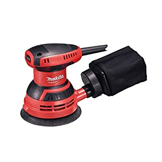 Makita M9204 Lijadora Rotorbital 125Mm 240W, 240 W, 230 V, Multicolor