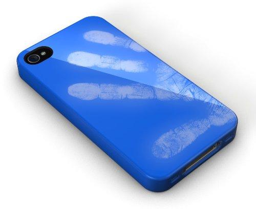 XtremeMac IPP-MO5-23 Tuffwrap Shift Schutzhülle für Apple iPhone 4/4S (Farbwechsel) blau/weiß blau/weiß