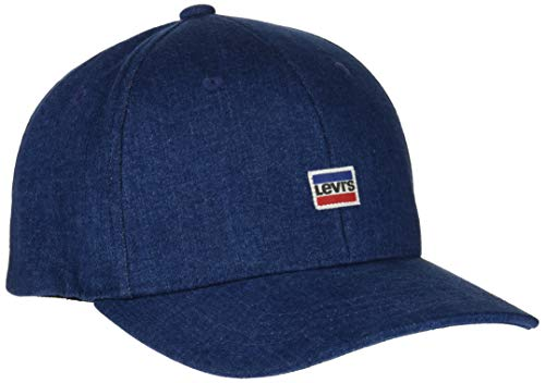 Imagen de levi's mini sportwear logo flexfit denim , azul light blue 13 , única talla del fabricante un para hombre