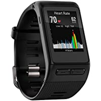 Garmin vivoactive HR GPS Smart Watch with Wrist Based Heart Rate (Black)