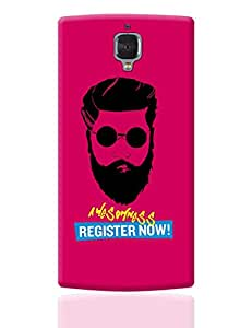 PosterGuy OnePlus 3 Case Cover - Awesomeness | Register Now ! Funny Illustration | Designed by: Vicky Bhardwaj