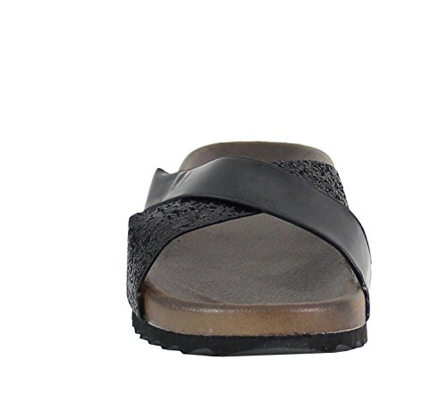 By Shoes - Zoccoli Donna Nero