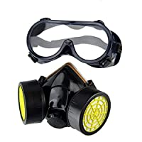 Gas Mask Protection Filter Chemical Gas Respirator Safety Dust Mask