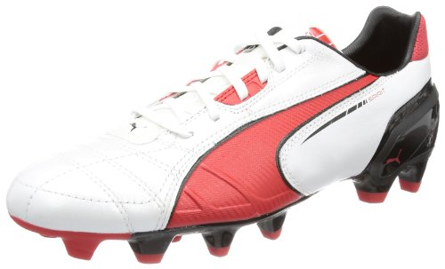 Puma Spirit FG 102671, Scarpe da calcio uomo, Bianco (Weiß (metallic white-high risk 05)), 42