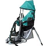 Fesjoy Faltbare Babytrage Piggyback Bequeme Sicherheit Faltbarer Stuhl mit Regenschirm Sonnenschirm Lager Gewicht £ 60