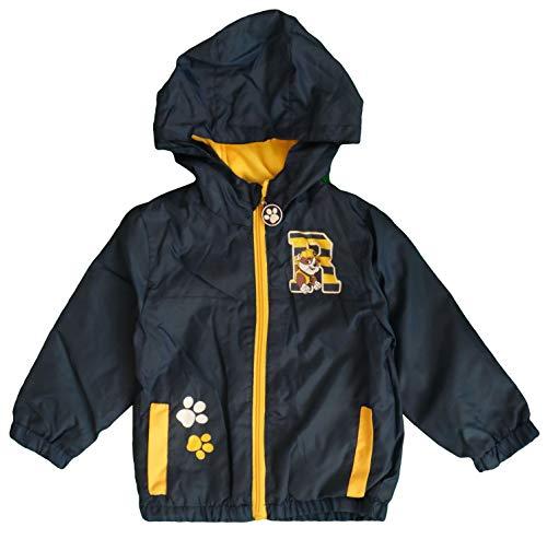 Nickelodeon Paw Patrol Kinder Wasserdichte Leichte Jacke Mit Fleecefutter (Blau, 6 Jahre) Patrol Jacke