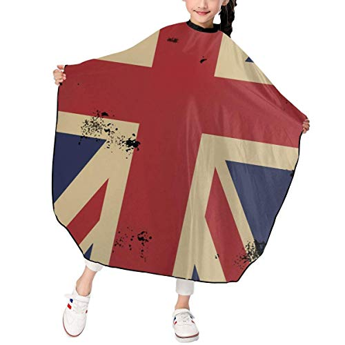 United Vertical Flag (Haarschnitt-Schutzblech-Haar-Hausmantel-Umhang, Vertical Flag Of The United Kingdom Kid Haircut Apron Hairdressing Gown Cape)