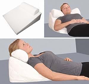 Maxxgoods cuscino cervicale ortopedico gel schiuma - Cuscini letto per cervicale ...