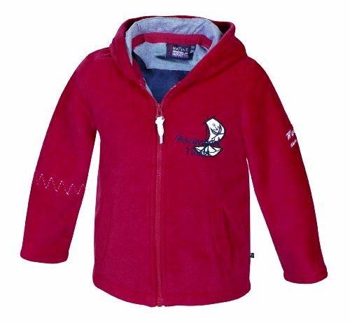 Marinepool Kinder Jacke Pirate Hood Kids Jacket Red, 80/86