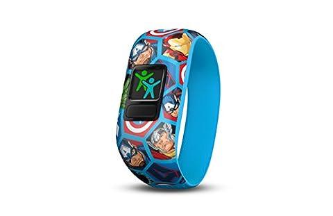Garmin 010-01909-02 Vivofit Junior 2 - Bracelet d'Activité Avengers