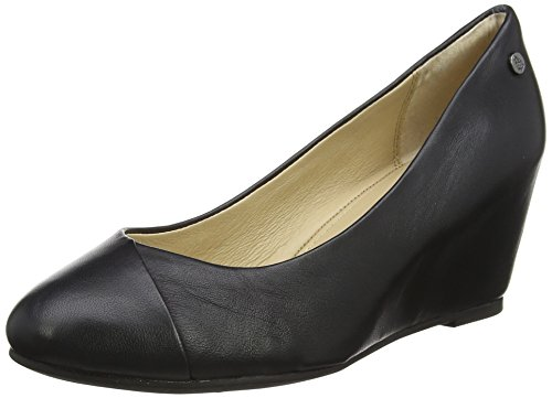 Hush Puppies Damen Maybe Marloe Pumps, Schwarz (Black), 37 EU (Hush Schuhe Puppies-damen)
