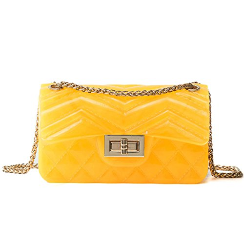 Mesdames Mode Sauvage Diagonal Chain Jelly Party Bag