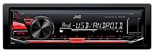 JVC KD-X130 car media receiver - car media receivers (FLAC, MP3, WAV, WMA, AM, FM, LW, MW, MOS-FET, 24-bit, 153 - 279 kHz, 531 - 1611 kHz)