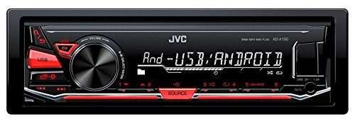 KD-X130 JVC Digital Media Receiver, USB, Nero/Antracite