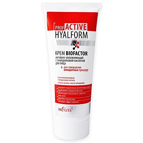 Belita-Vitex Prof Active HYALFORM, Biofaktor-Creme, mit hochmolekularer Hyaluronsäure, 200ml, für...
