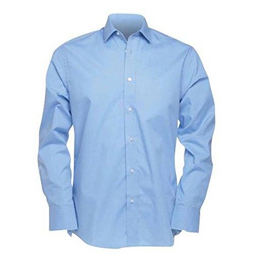Kustom Kit Tailored Business Shirt Long Sleeved Weiß