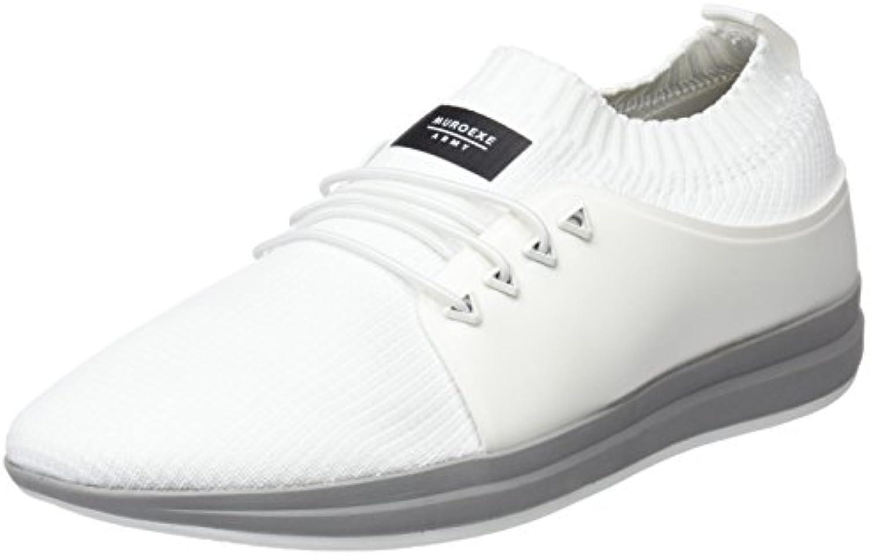 Muroexe Herren Army Unite Total White Sneaker
