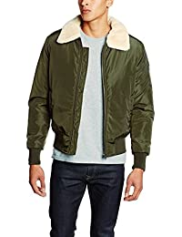 Urban Classic Herren Jacke Pilot Bomber Jacket