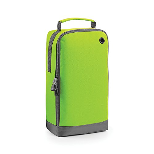 BagBase Borsa per Scarpe Portascarpe Athleisure sports 19x35x12cm 8L Fuchsia LIME GREEN