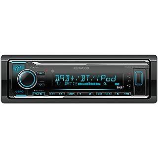 Kenwood KMM-BT504DAB  Digital Media Receiver mit Bluetooth und DAB plus Empfänger schwarz
