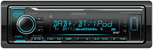 Kenwood KMM-BT504DAB  Digital Media Receiver mit Bluetooth und DAB plus Empfänger schwarz - Car Audio-pioneer-cd