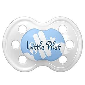 Petit avion pilote Soother de la tétine | de bébé