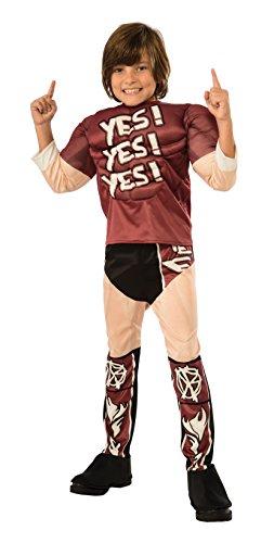 Rubie's Costume WWE Daniel Bryan Muscle Chest Child Costume, Small by Rubie's Costume Co